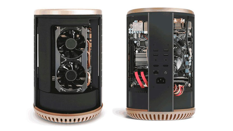 Turn Your PC into Mac PRO Look-alike with DUNE CASE