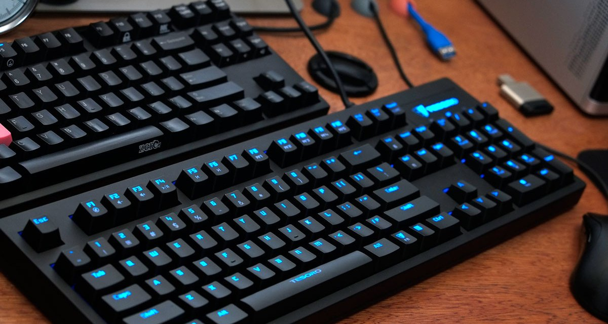 Tesoro Excalibur Mechanical Keyboard Review