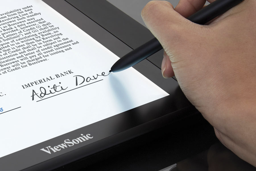 ViewSonic Digitizer Module Enhances Advanced VTM Solutions