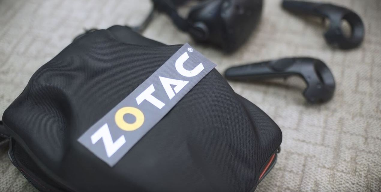ZOTAC Shows Us A Mobile VR Ready PC On A Backpack!