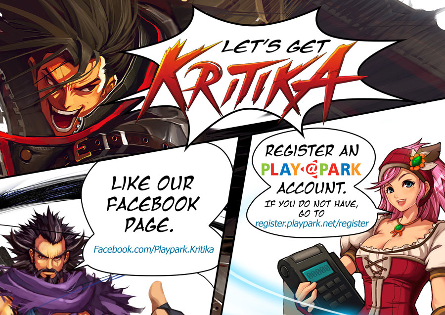 Pre-Register To Get an Edge At The KRITIKA MMORPG