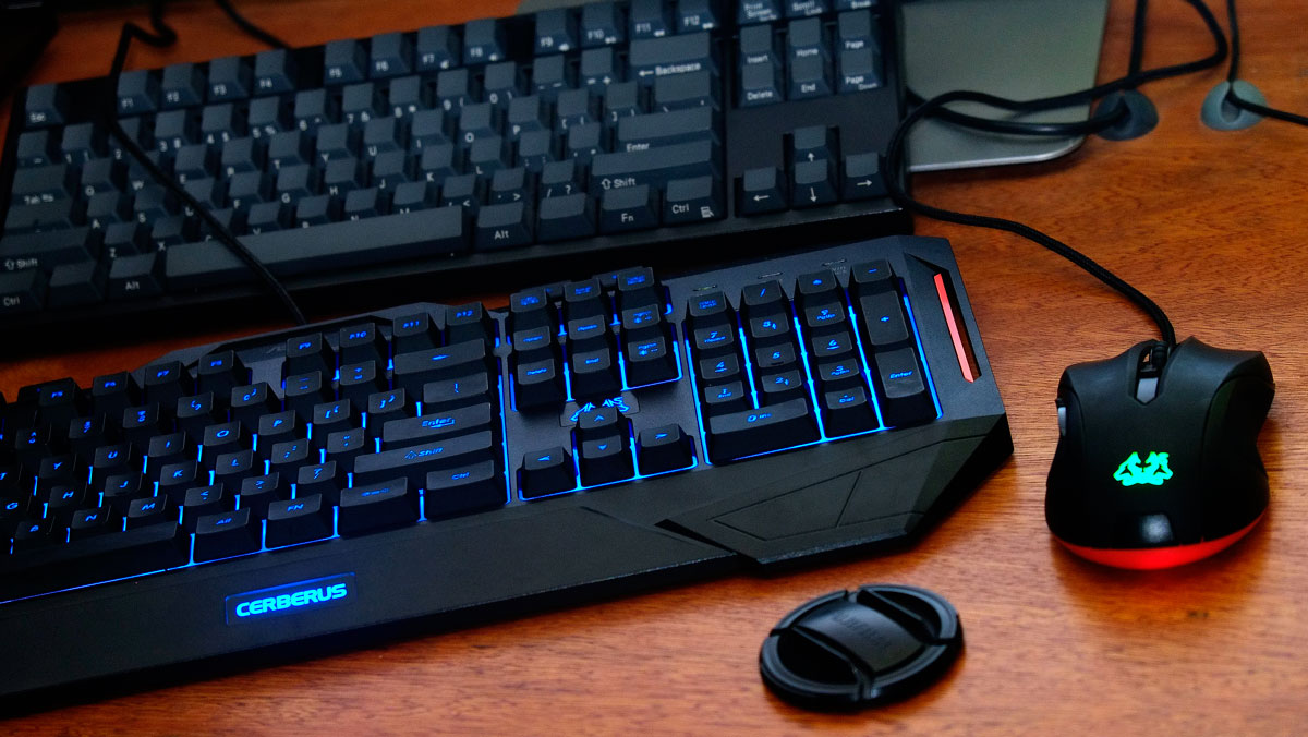 Asus Cerberus Keyboard Mouse Review Techporn