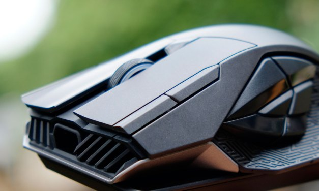 ASUS ROG Spatha Wireless MMO Gaming Mouse Review