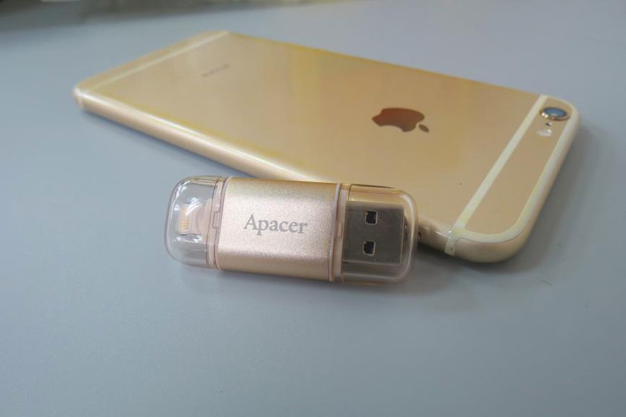 Hands On: Apacer AH190 USB3.1 Dual Flash Drive for Apple Devices