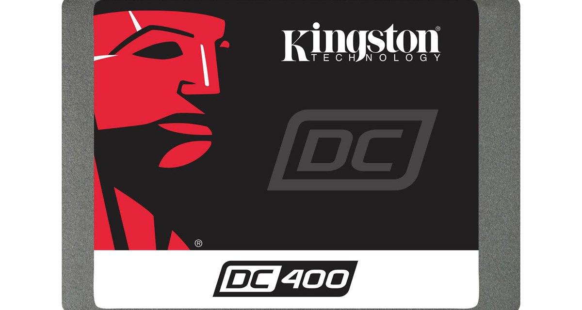 Kingston Releases DC400 Entry-level Data Center SSD
