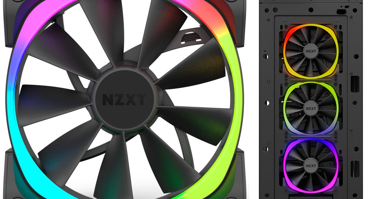 NZXT Launches Aer RGB LED PWM Fans