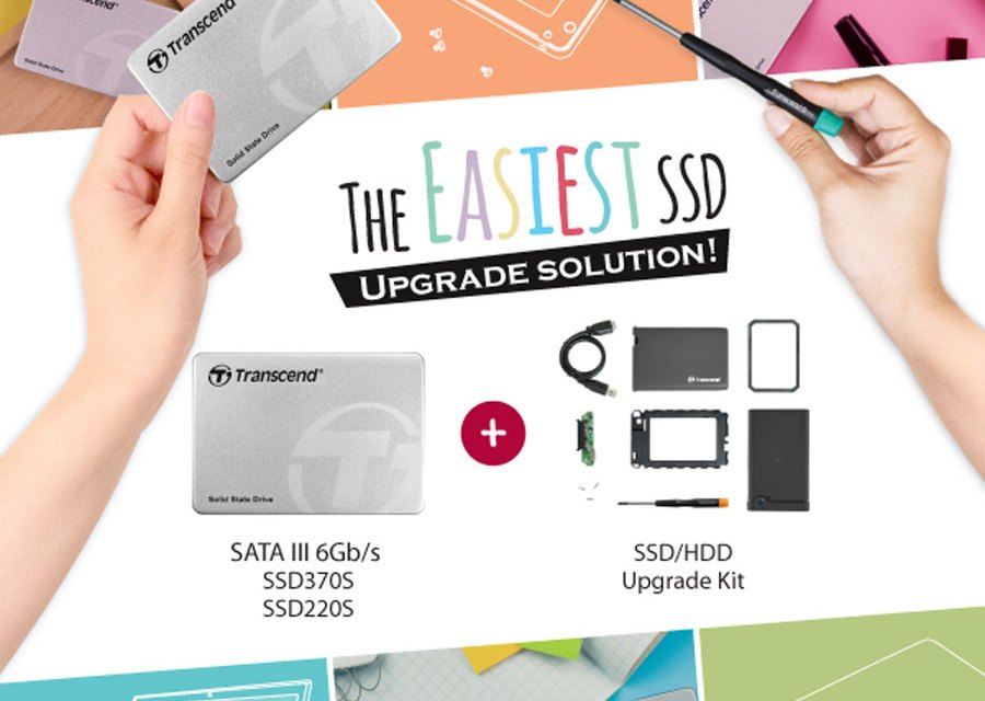 Transcend Introduces Its SSD+ Upgrade Kit