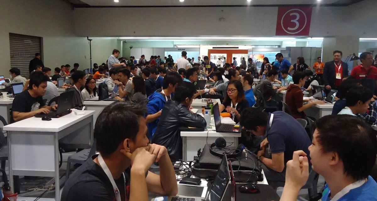 Digital Enthusiasts Participated at the UNIONBANK U:HAC Manila