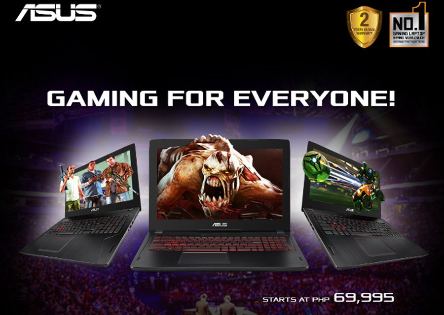 ASUS FX502 is an Affordable Gaming Laptop w/ GeForce GTX 1060 GPU Inside
