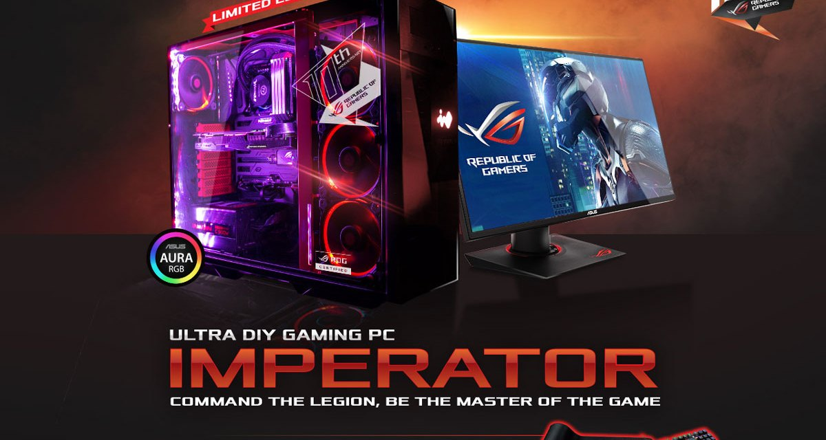 ASUS ROG Announces the ROG Imperator Ultra Gaming DIY PC