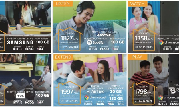 Globe Updates Broadband Plans With Entertainment Bundles