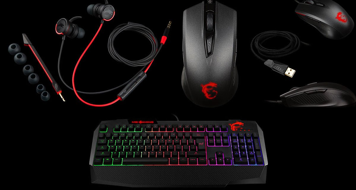 MSI Introduces Gaming Keyboard Mouse and Headset