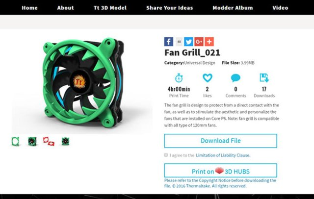 Thermaltake and 3D Hubs Announce 3D Printing Partnership | TechPorn