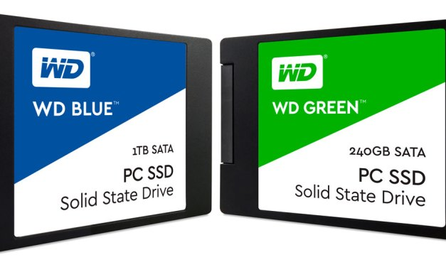 WD Finally Releases The WD Blue and WD Green SSD