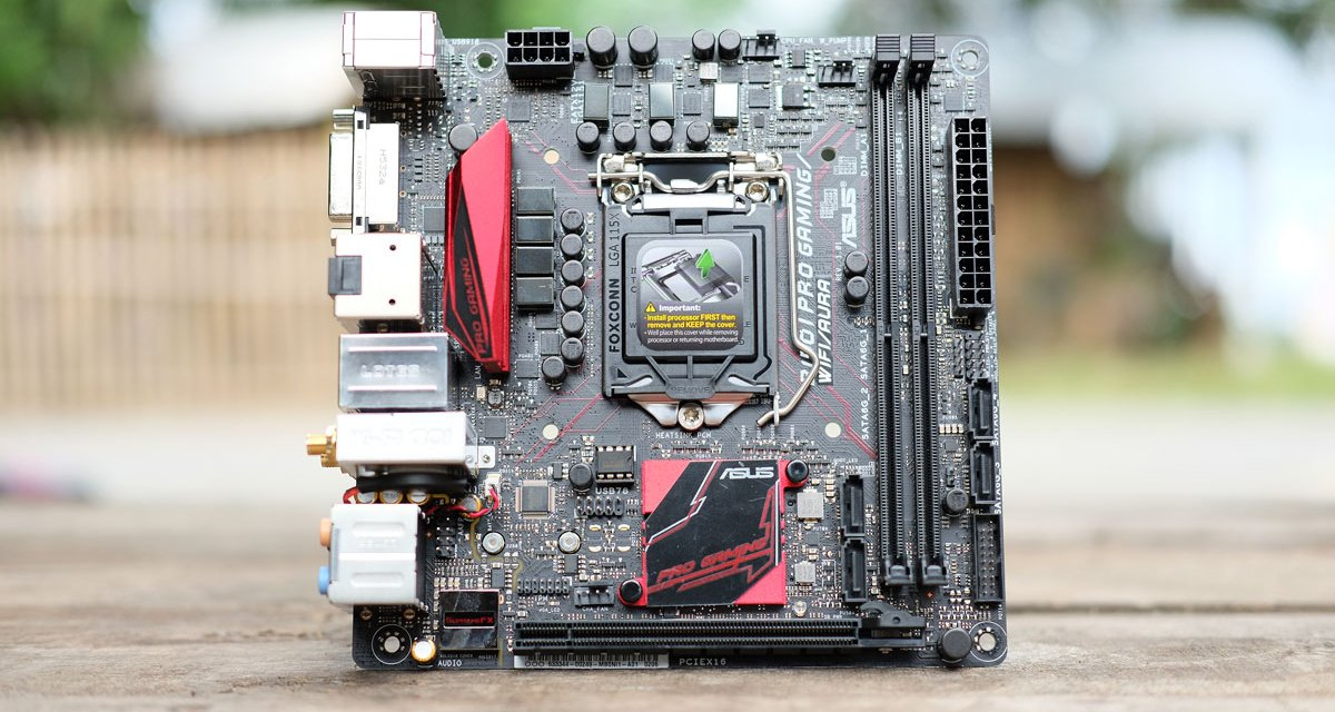ASUS B150I PRO GAMING WIFI AURA Motherboard Review