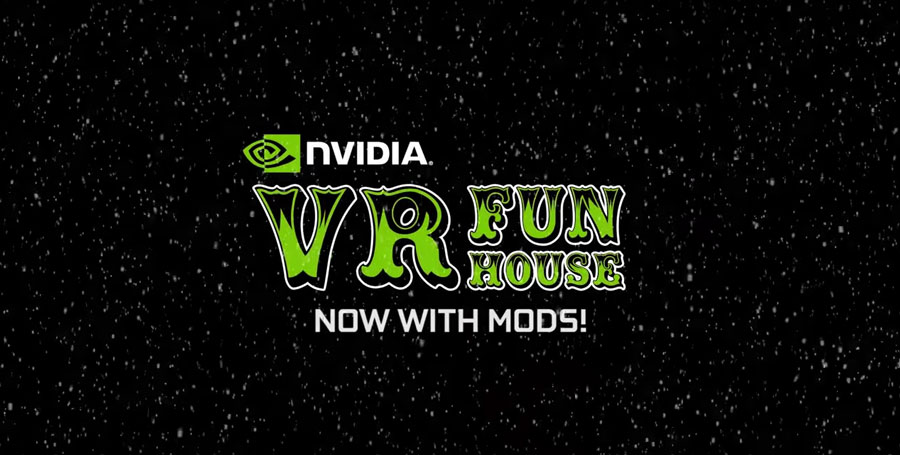 NVIDIA VR Fun House Adds Mod Support & Achievements At Steam