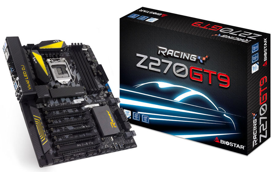 Biostar Releases Full Line-Up of Z270 Racing Motherboards
