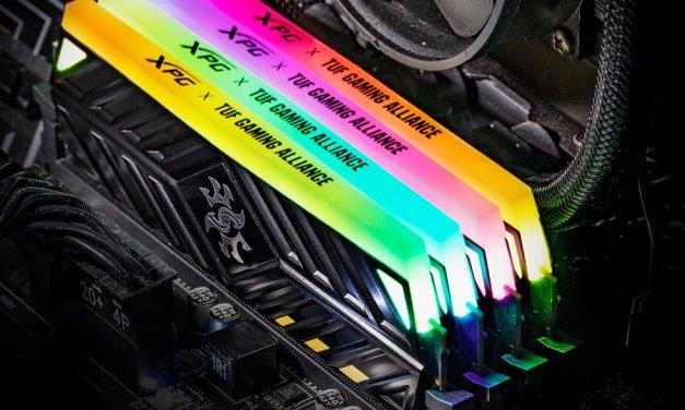 ADATA Unveils XPG SPECTRIX D41 TUF DDR4 RGB Memory