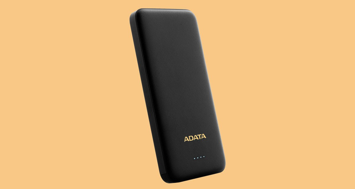 ADATA Launches Slim and Stylish T10000 Power Bank