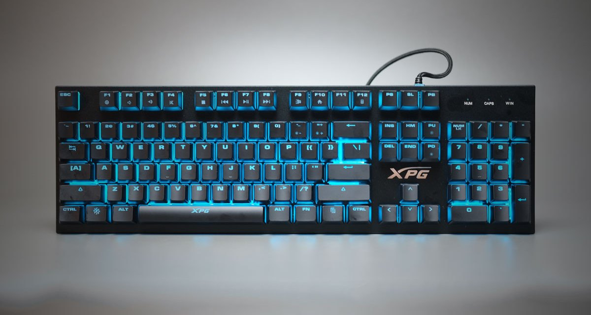 Review | ADATA XPG INFAREX K10 RGB Gaming Keyboard