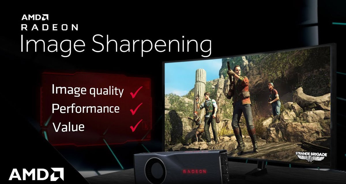 AMD Brings Radeon Image Sharpening Support for RX 500 Series