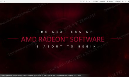 AMD Radeon Software Adrenalin Editions Gets 2020 Facelift