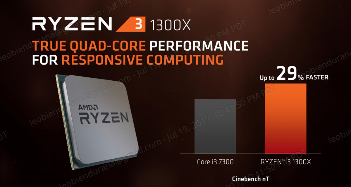 AMD Finally Releases The Ryzen 3 CPU Family