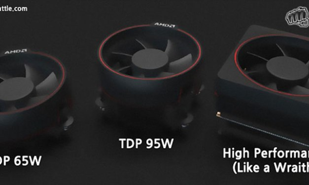 AMD Ryzen Stock Coolers Leaked – Features LED Lighting