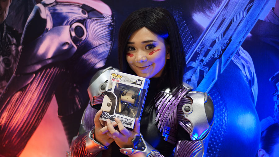 AOC and 20th Century Fox Premiers Alita: Battle Angel