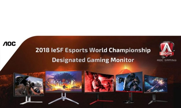 AOC Proud to Power IeSF Esports World Championship