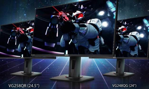 ASUS Announces New NVIDIA G-SYNC Compatible Gaming Monitors
