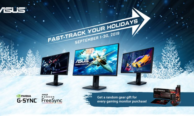 Get Free ASUS Gaming Gear When you Purchase Select Gaming Monitors