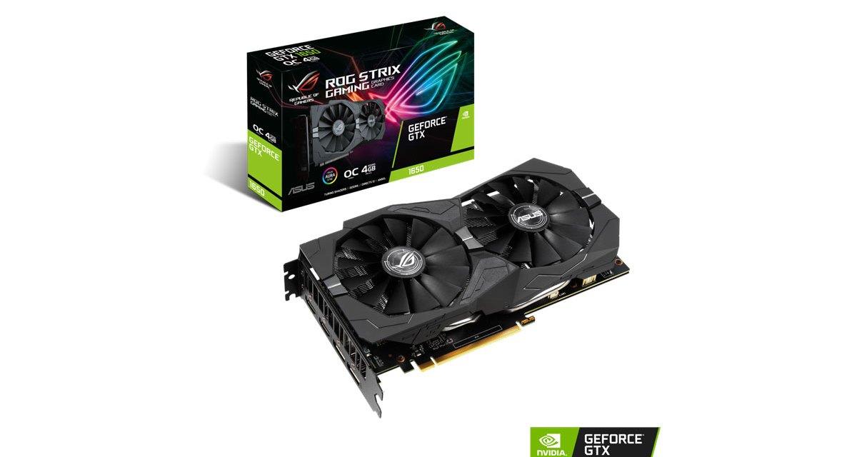 ASUS Announces ROG Strix, Dual, and Phoenix GeForce GTX 1650 Graphics Cards