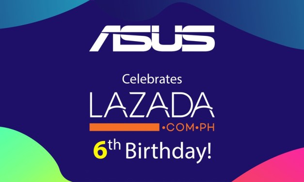 ASUS PH Celebrates Partnership with the Lazada Birthday Festival