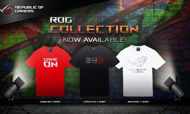 ASUS ROG Collection Now Available at Selected Stores