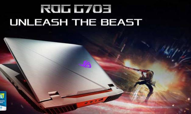 ASUS Details 8th-Gen ROG Chimera G703 Gaming Notebook