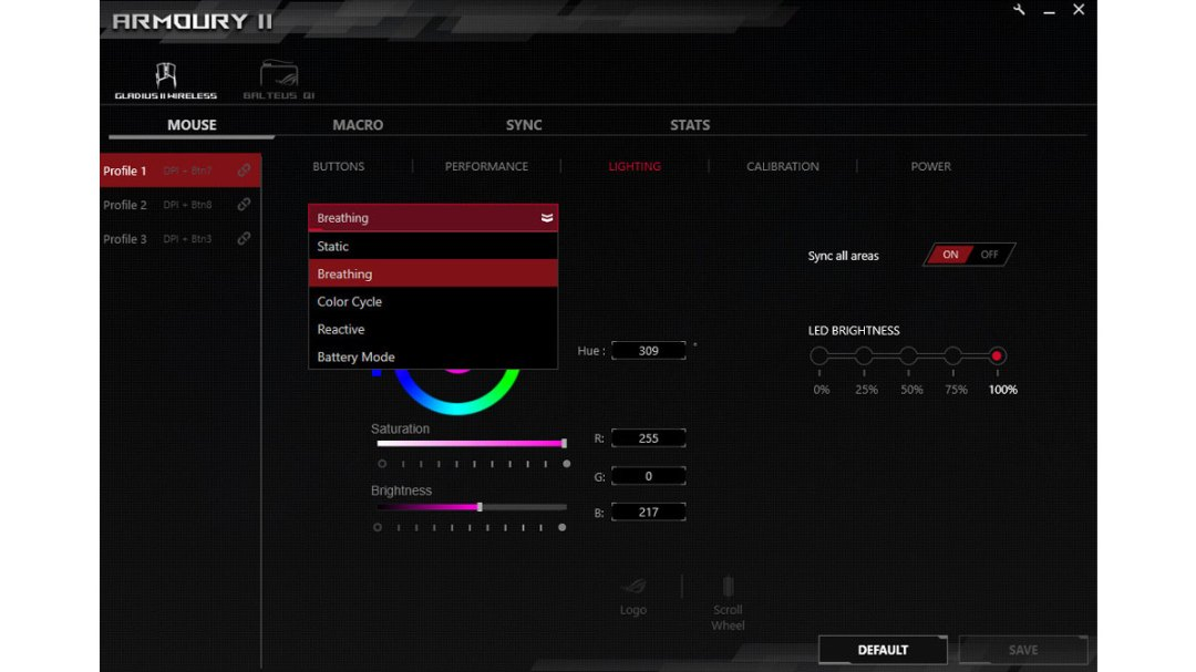 ASUS ROG Gladius II Wireless Benchmarks (1)