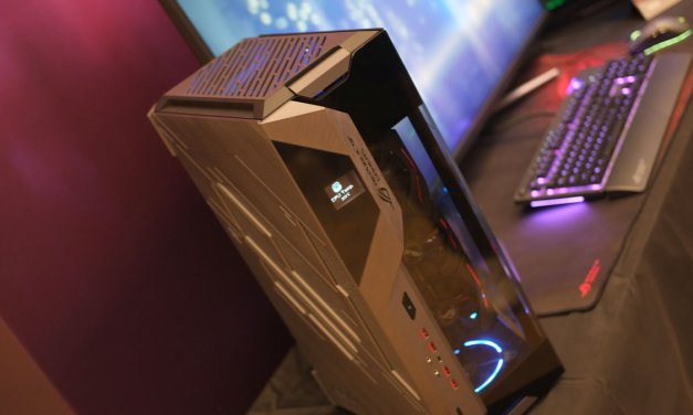 ASUS Reveals Angled Tray Design with the ROG ITX Concept Case