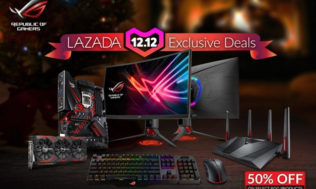 ASUS ROG Joins Lazada 12.12 2018 Campaign