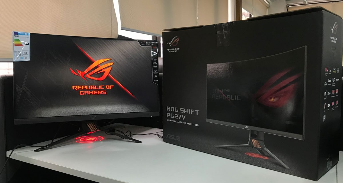 ASUS Republic of Gamers Announces Swift PG27VQ | TechPorn