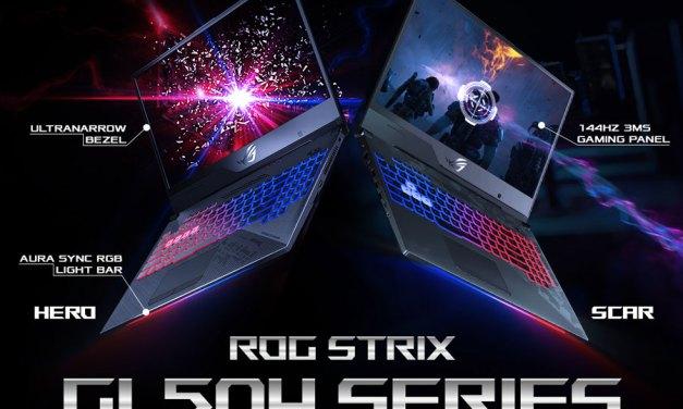 ASUS ROG Rolls out Strix GL504 SCAR II and Hero II