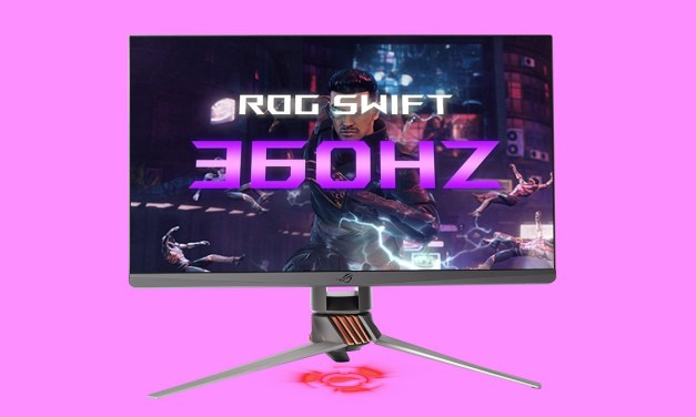 ASUS ROG Announces ROG Swift 360Hz Gaming Monitor