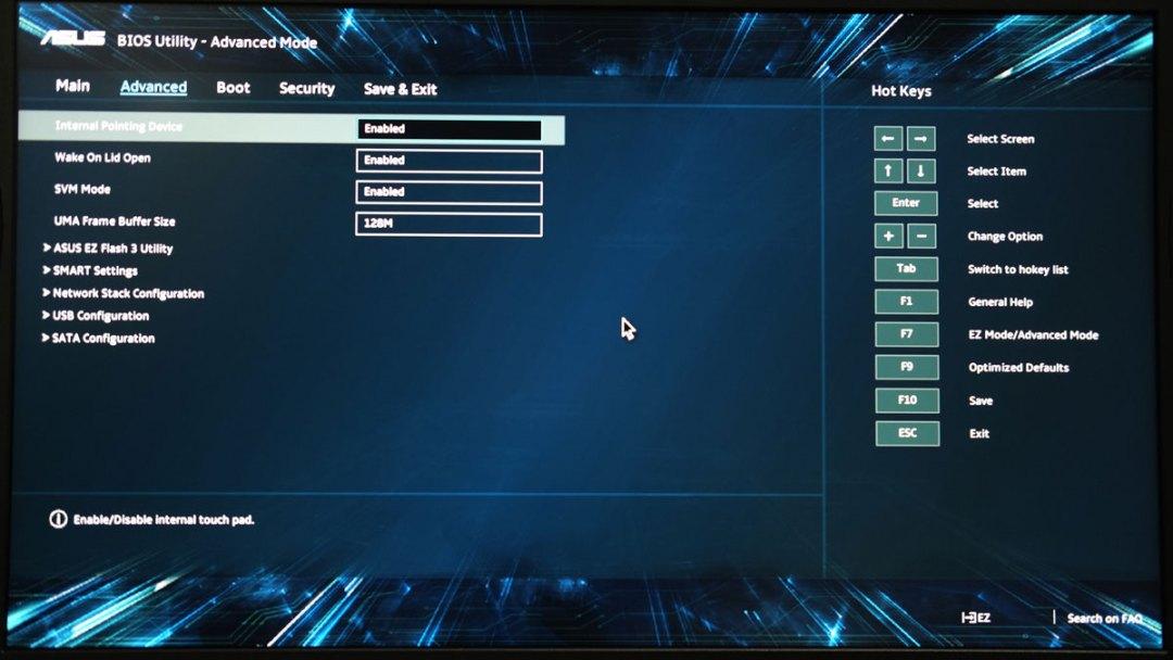ASUS TUF Gaming FX505DY UEFI BIOS (1)