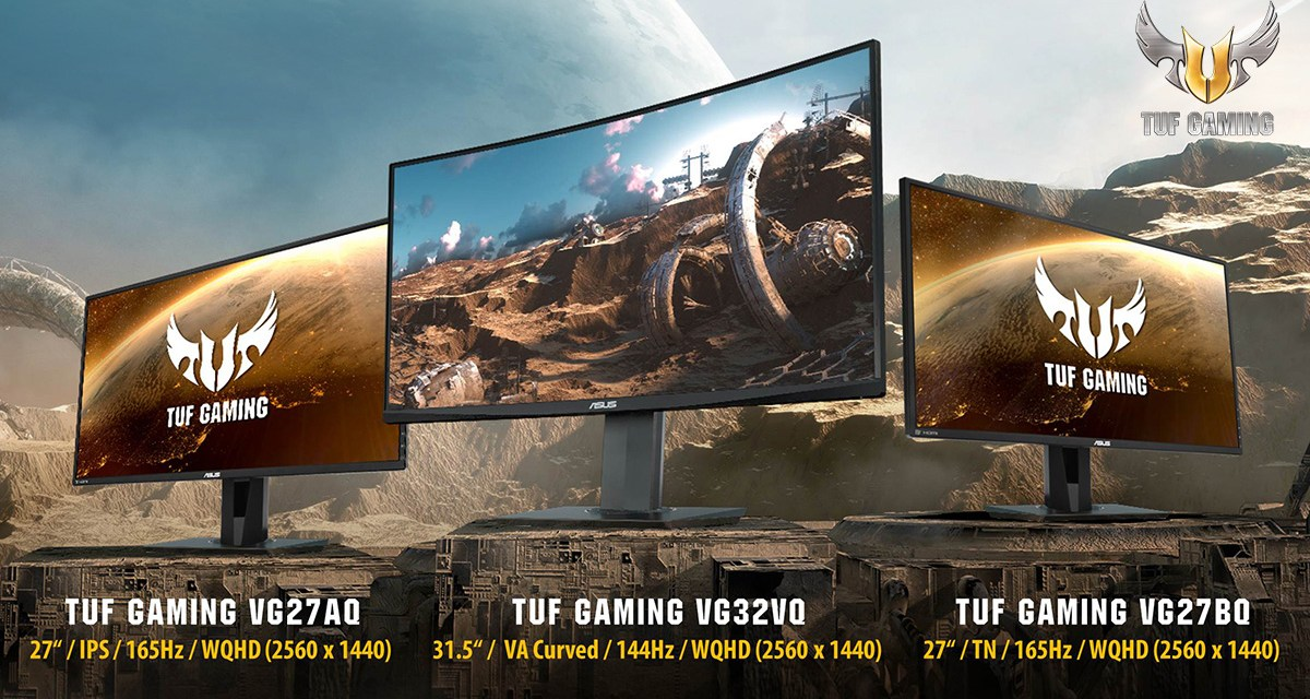 ASUS Announces Availability of TUF Gaming VG Series Monitors