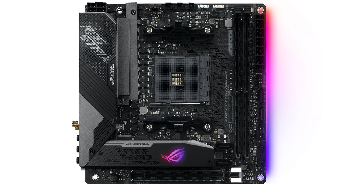 ASUS Previews AMD X570 Series Motherboards