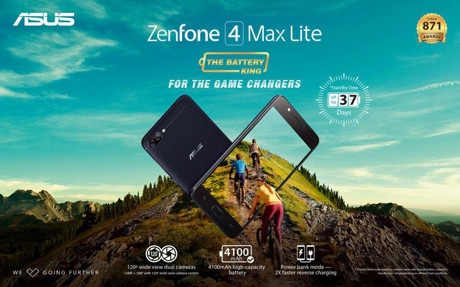 ASUS Philippines Unveils The ZenFone 4 Max Lite