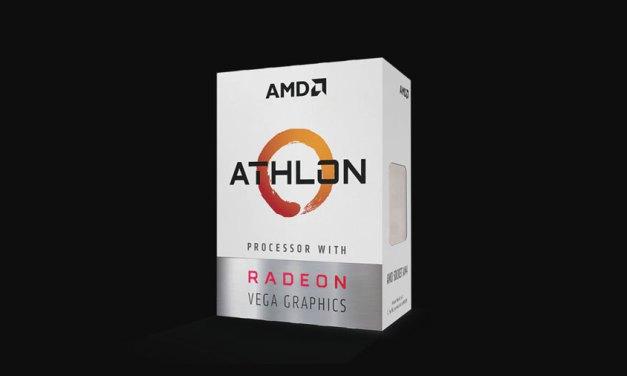 AMD Announces Athlon 220GE and Athlon 240GE Processors