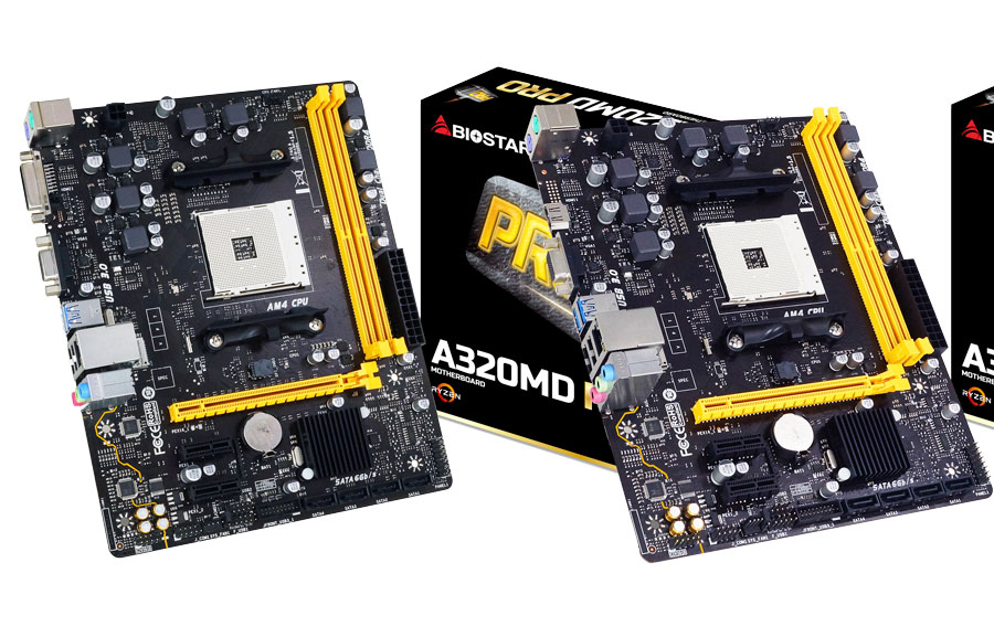 BIOSTAR Introduces The A320 PRO Series AM4 Motherboards