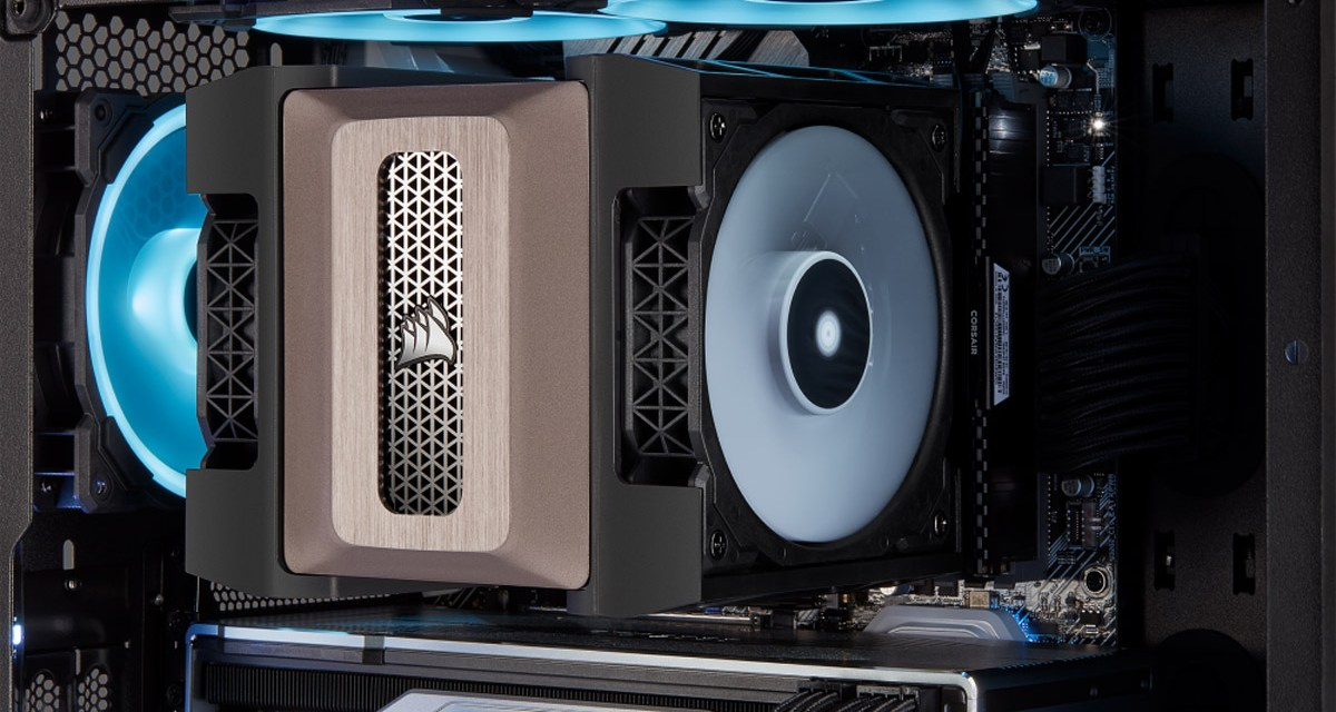 CORSAIR Debuts A500 its First Air Cooler at CES