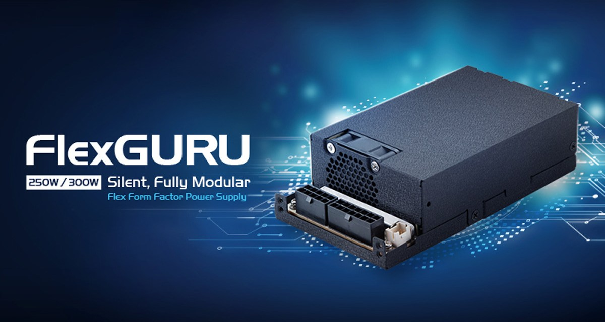 FSP Unveils FlexGURU 250W and 300W Modular PSU